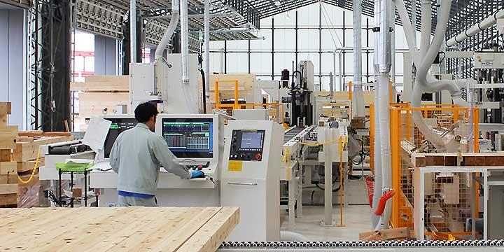 坂詰製材所の技術